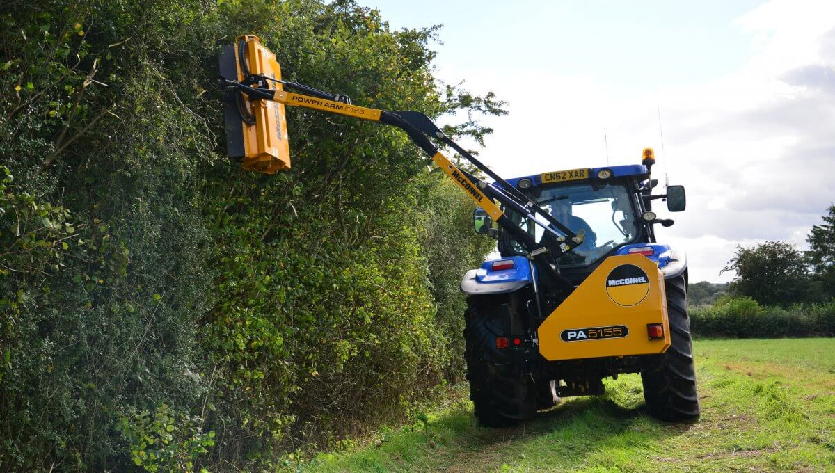 Mcconnel Pa50 Side Arm Flail Hire From 163 850 Per Week